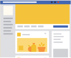 facebook business template