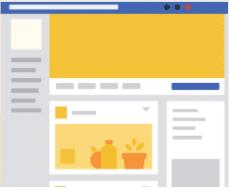 facebook business template