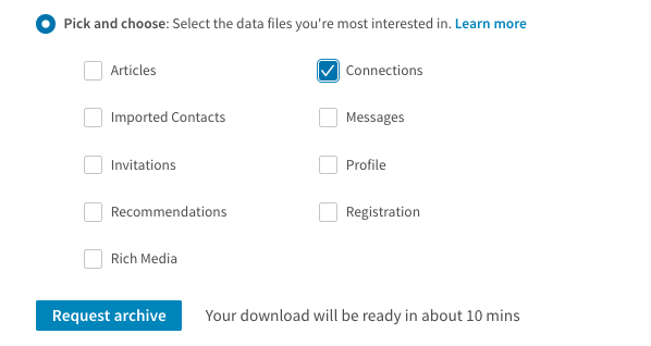 How To Download Your Contacts From Linkedin Brighstpark