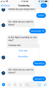 travel chatbot