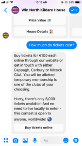 win north kildare chatbot