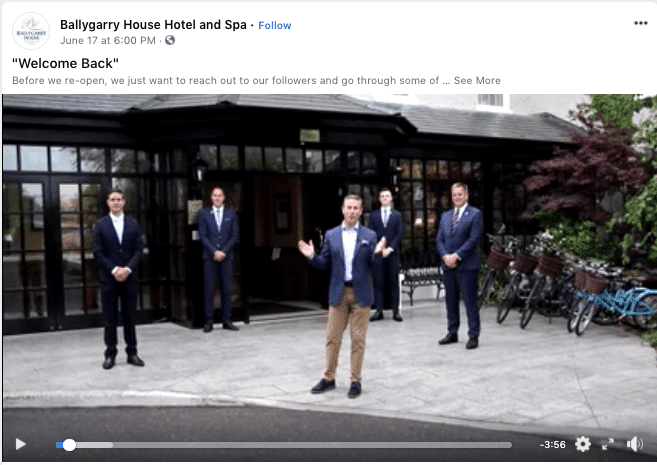 ballygarry house hotel video