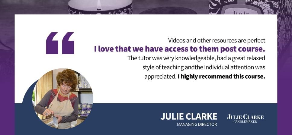 Julie Clark Testimonial