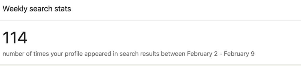 linkedin-search-appearances