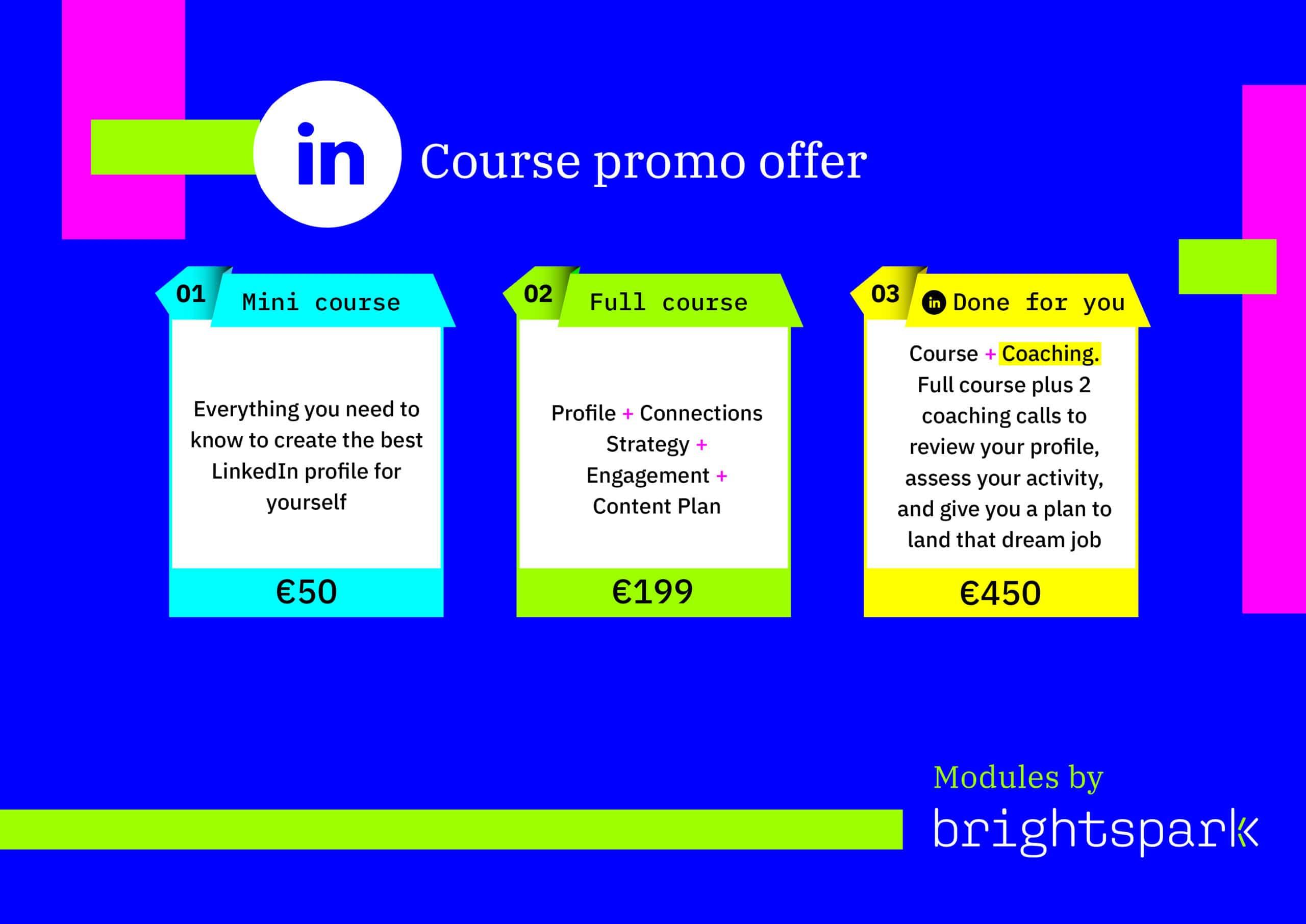LinkedIn Courses Brightspark